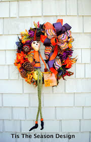 Halloween Wreaths Pinterest by 81 Best Halloween Wreaths Images On Pinterest Halloween Wreaths