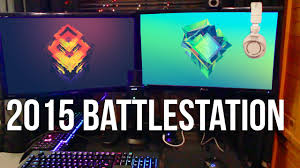 randomfrankp battlestation pc gaming setup tour 2015 youtube