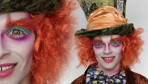 Cool Halloween Makeup Ideas For Men by The Mad Hatter Makeup Tutorial For Halloween Fancy Dress
