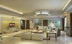 plaster ceiling design rendering for luxury modern living room