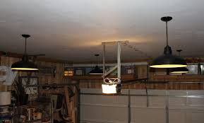 led garage lighting system lighting lighting diy how to install led garage metal fabrication