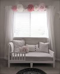 White Curtains With Pom Poms Decorating Whimsical Pom Pom Collection Your Choice Of Colors 8 Pom Poms