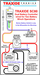 winch 2nd battery isolation necessary 4x4earth