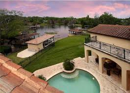 Florida Mediterranean Style Homes - spanish mediterranean style lakefront home in winter park fl