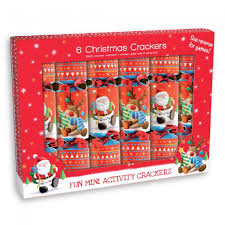 wholesale 6 novelty reindeer and santa crackers uk discount
