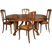 mahogany dining room set nouveau mahogany dining table and 12 chairs by paul a dumas