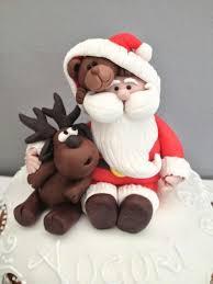 Christmas Cake Decorations Traditional Santa by Die Besten 25 Fondant Weihnachtskuchen Ideen Auf Pinterest