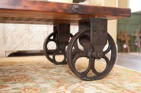 Rustic Coffee Table On Wheels Rustic Coffee Table With Wheels And Shelves Rustic Coffee Table