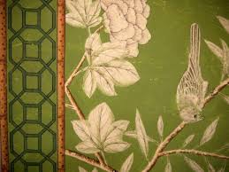 Hand Painted Wallpaper by Gracie Handpainted Chinese Wallpaper Screen At 1stdibs