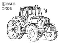 john deere tractor coloring pages print earth boys