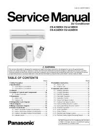 100 instructions manual split type room air conditioner lg