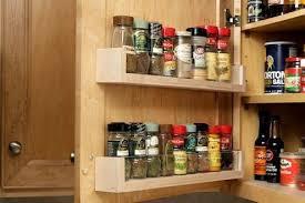 kitchen cabinet door storage racks diy spice rack 5 you can make bob vila