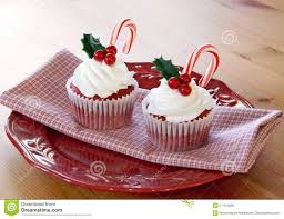 christmas cupcakes royalty free stock images image 17414039