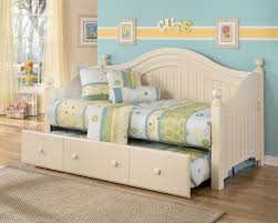 cottage retreat day bed with trundle bedroom furniture beds