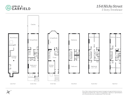 Brooklyn Brownstone Floor Plans 154 Hicks Street Townhouse Brooklyn Heights Ny 11201 Brooklyn