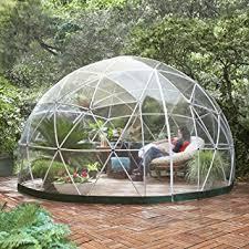 garden igloo garden igloo 33244 clear greenhouse 142 x 142 x 87 inches amazon