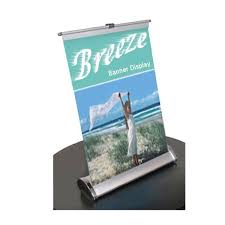 table top banners for trade shows table top banner stand breeze 11x18 anything display