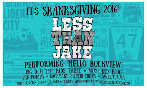 Backyard Superheroes Less Than Jake Big D And The Kids Table Mustard Plug Live In Nj