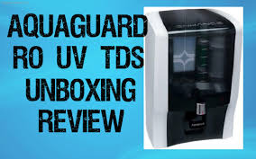 ultraviolet light water purifier reviews aquaguard enhance ro uv tds unboxing demo review best water