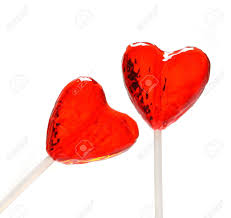 s day lollipops two heart shaped lollipops for s day from my