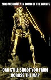 Skeleton Meme - img memecdn com even the other giant skeletons can