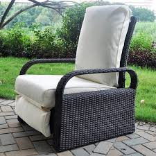 Reclining Patio Chairs Furniture Cozy Patio Recliner For Your Outdoor Chair Design