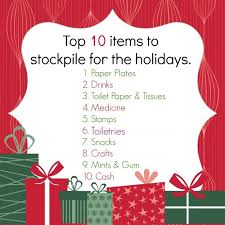 3 weeks to the holidays stock up on basics organize 365
