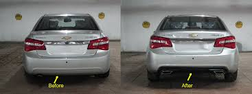 chevrolet captiva modified my chevy cruze pimped with tablet new tail lights diffuser and