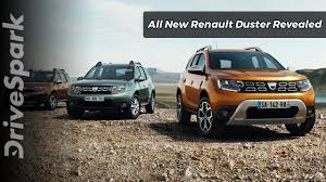 renault lodgy modified 2018 renault duster revealed drivespark youtube