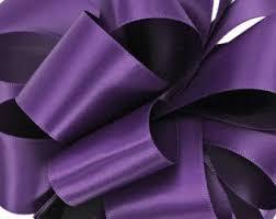purple satin ribbon 3 yards iris faced satin 2 1 2 wide iris satin sash