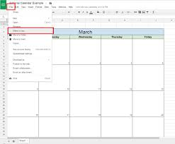 Make Spreadsheet Online How To Create A Free Editorial Calendar Using Google Docs