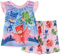 pj masks toddler girls u0027 heroic 2 piece pajama disney junior tv