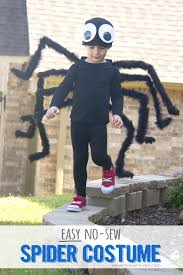 diy easy no sew spider costume plus one to give away