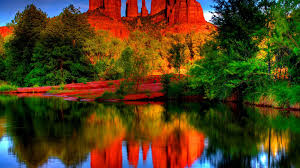 desert mountains water nature oasis mountain reflections deserts
