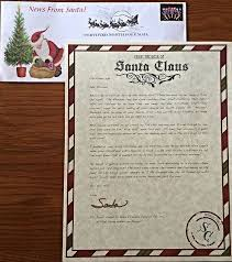 santa claus letters personalized letters from santa creating magical moments for