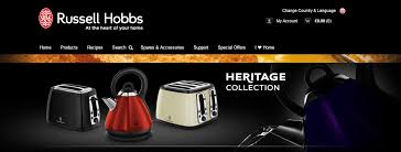 Russell Hobbs Toaster Heritage Get The Best Russell Hobbs Vouchers Codes For November 2017
