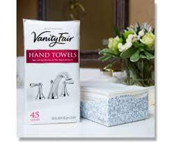 Vanity Fair Canada Disposable Guest Towels Vanity Fair Napkins