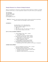 college student resume exles little experience synonym resume for high student with no work experience tolg