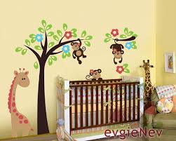 stickers animaux chambre bébé stickers bebe animaux jungle great sticker tableau animaux with
