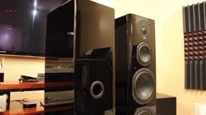 home theater tower speakers svs prime tower speakers review youtube