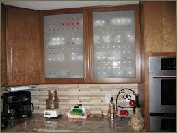 kitchen cabinet light brown glass cabinet doors frosted beige