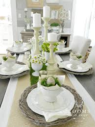 fancy dining table decor ideas and best 20 easter table