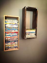 Wooden Storage Shelves Diy by Best 25 Dvd Rack Ideas On Pinterest Dvd Storage Rack Diy Dvd