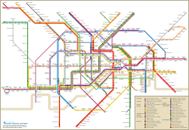 Barcelona Subway Map by Subway Map Design My Blog
