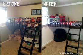 Bedroom Decor Before And After Boy Bedroom Before U0026 After Find It Make It Love It