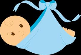 baby shower boy racing clipart