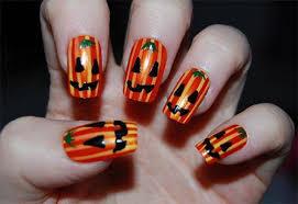 imagenes de uñas decoradas de jalowin imágenes de uñas decoradas para halloween y día de los muertos