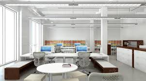Office Designer by 3d Rendering Design Concept Animation Chicago Office Design