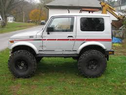 suzuki samurai rock crawler lets see your samurai u0027s sidekicks trackers page 3