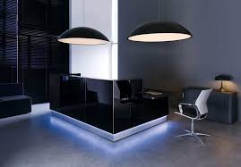 Grey Reception Desk Extraordinary Lowes Lamps Enlightening Modern Reception Desk And